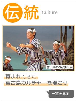 伝統:育まれてきた  宮古島カルチャーを覗こう