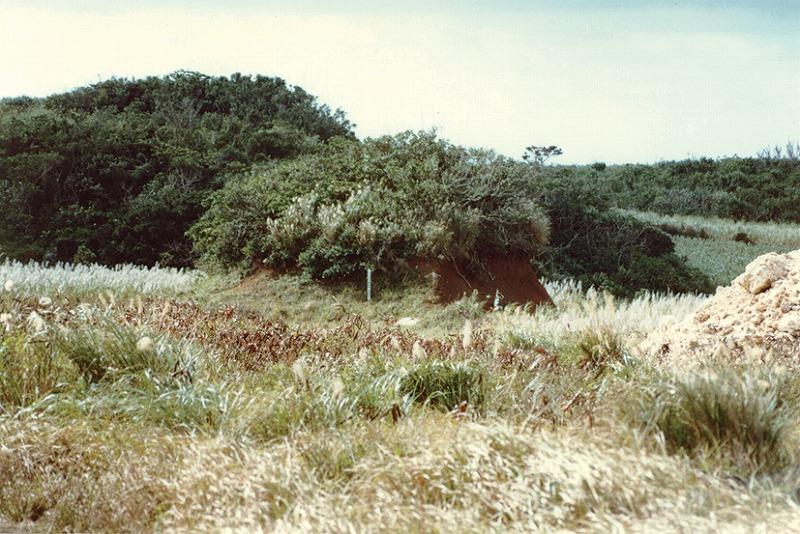マムヤの屋敷後・機織り場・墓