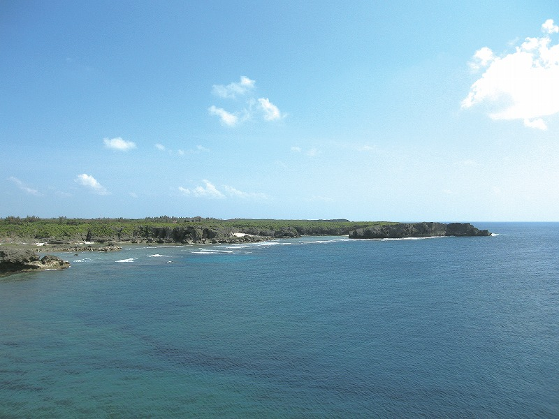 下地島南・西岩礁海岸